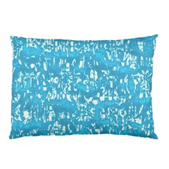 Glossy Abstract Ocean Pillow Case (Two Sides)