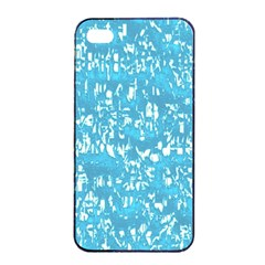 Glossy Abstract Ocean Apple iPhone 4/4s Seamless Case (Black)
