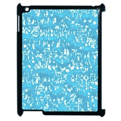 Glossy Abstract Ocean Apple iPad 2 Case (Black)