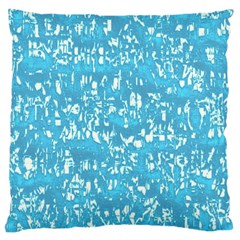 Glossy Abstract Ocean Large Cushion Case (One Side)