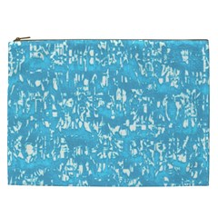Glossy Abstract Ocean Cosmetic Bag (XXL)