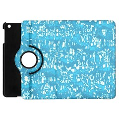 Glossy Abstract Ocean Apple iPad Mini Flip 360 Case