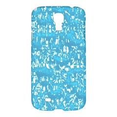 Glossy Abstract Ocean Samsung Galaxy S4 I9500/I9505 Hardshell Case