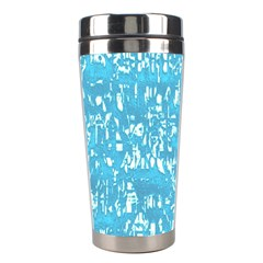 Glossy Abstract Ocean Stainless Steel Travel Tumblers