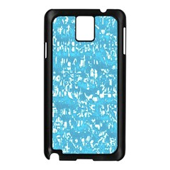 Glossy Abstract Ocean Samsung Galaxy Note 3 N9005 Case (Black)