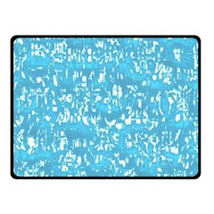 Glossy Abstract Ocean Double Sided Fleece Blanket (Small)