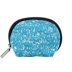 Glossy Abstract Ocean Accessory Pouches (Small)
