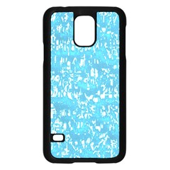 Glossy Abstract Ocean Samsung Galaxy S5 Case (Black)