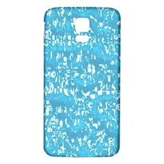 Glossy Abstract Ocean Samsung Galaxy S5 Back Case (White)
