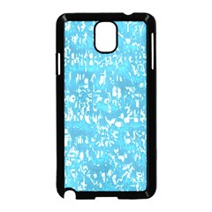 Glossy Abstract Ocean Samsung Galaxy Note 3 Neo Hardshell Case (Black)