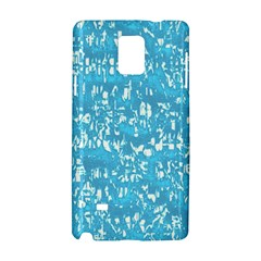 Glossy Abstract Ocean Samsung Galaxy Note 4 Hardshell Case
