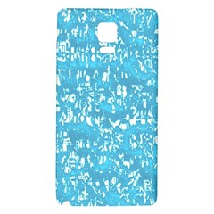 Glossy Abstract Ocean Galaxy Note 4 Back Case