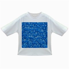 Glossy Abstract Teal Infant/Toddler T-Shirts