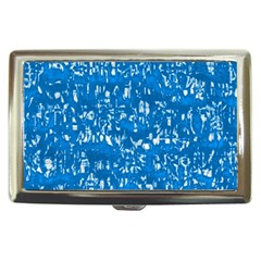 Glossy Abstract Teal Cigarette Money Cases