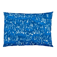 Glossy Abstract Teal Pillow Case