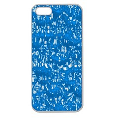 Glossy Abstract Teal Apple Seamless iPhone 5 Case (Clear)