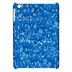 Glossy Abstract Teal Apple iPad Mini Hardshell Case