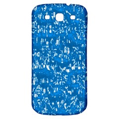 Glossy Abstract Teal Samsung Galaxy S3 S III Classic Hardshell Back Case