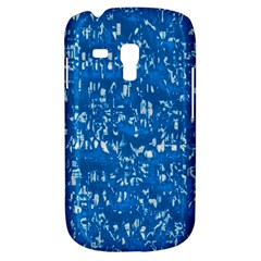 Glossy Abstract Teal Galaxy S3 Mini