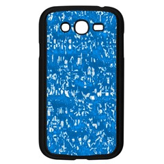 Glossy Abstract Teal Samsung Galaxy Grand DUOS I9082 Case (Black)