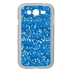Glossy Abstract Teal Samsung Galaxy Grand DUOS I9082 Case (White)