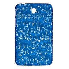 Glossy Abstract Teal Samsung Galaxy Tab 3 (7 ) P3200 Hardshell Case