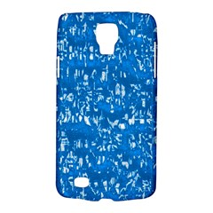 Glossy Abstract Teal Galaxy S4 Active