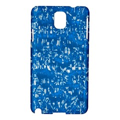 Glossy Abstract Teal Samsung Galaxy Note 3 N9005 Hardshell Case