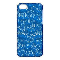 Glossy Abstract Teal Apple iPhone 5C Hardshell Case