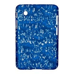 Glossy Abstract Teal Samsung Galaxy Tab 2 (7 ) P3100 Hardshell Case