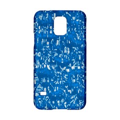 Glossy Abstract Teal Samsung Galaxy S5 Hardshell Case