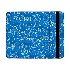 Glossy Abstract Teal Samsung Galaxy Tab Pro 8.4  Flip Case