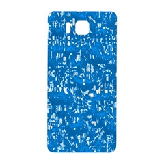 Glossy Abstract Teal Samsung Galaxy Alpha Hardshell Back Case