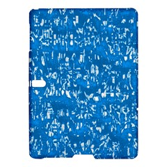 Glossy Abstract Teal Samsung Galaxy Tab S (10.5 ) Hardshell Case