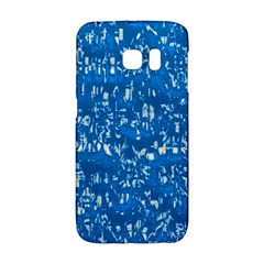 Glossy Abstract Teal Galaxy S6 Edge