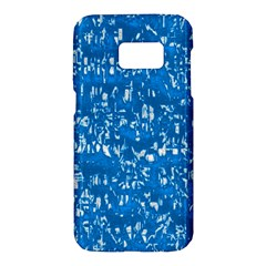 Glossy Abstract Teal Samsung Galaxy S7 Hardshell Case