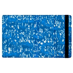 Glossy Abstract Teal Apple iPad Pro 9.7   Flip Case