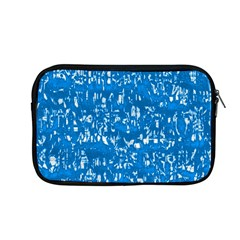 Glossy Abstract Teal Apple MacBook Pro 13  Zipper Case