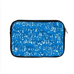 Glossy Abstract Teal Apple MacBook Pro 15  Zipper Case