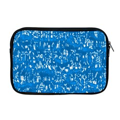 Glossy Abstract Teal Apple MacBook Pro 17  Zipper Case