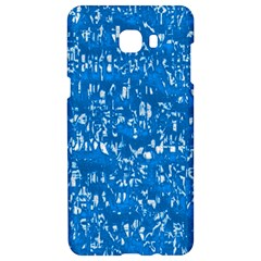 Glossy Abstract Teal Samsung C9 Pro Hardshell Case