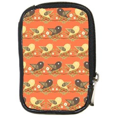 Birds Pattern Compact Camera Cases