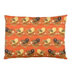 Birds Pattern Pillow Case (Two Sides)