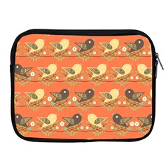 Birds Pattern Apple iPad 2/3/4 Zipper Cases