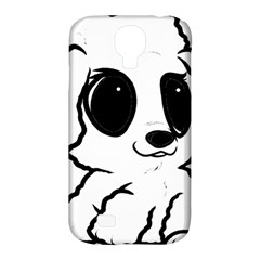 Poodle Cartoon White Samsung Galaxy S4 Classic Hardshell Case (PC+Silicone)