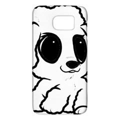Poodle Cartoon White Galaxy S6