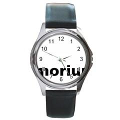 Livermorium 116 Round Metal Watch