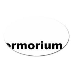 Livermorium 116 Oval Magnet