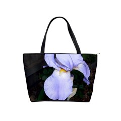 Bearded Iris Shoulder Handbags