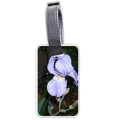 Bearded Iris Luggage Tags (Two Sides)